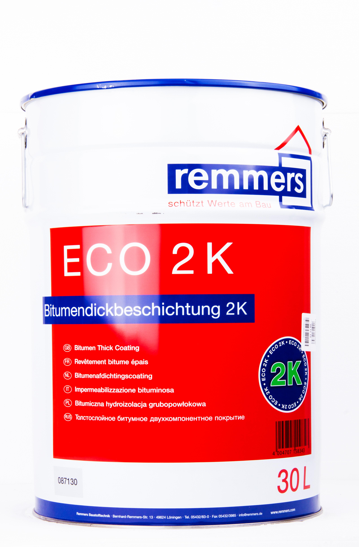 remmers eco 2k bitumendickbeschichtung 30 liter eimer. Black Bedroom Furniture Sets. Home Design Ideas