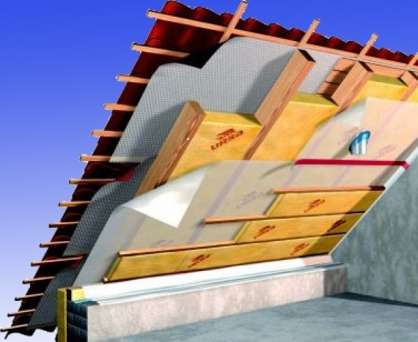 d mmpaket f r ca 120 m dachausbau klemmfilz wlg 035 in 200 mm d mmstoffe nord. Black Bedroom Furniture Sets. Home Design Ideas