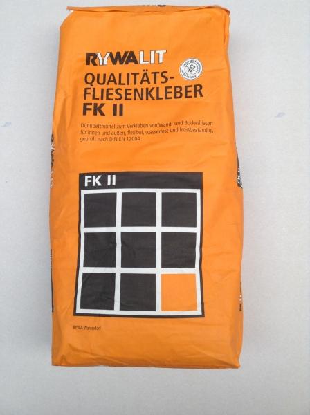 Rywalit fk ii flexibler fliesenkleber 25kg d mmstoffe nord for Fliesenkleber frostsicher